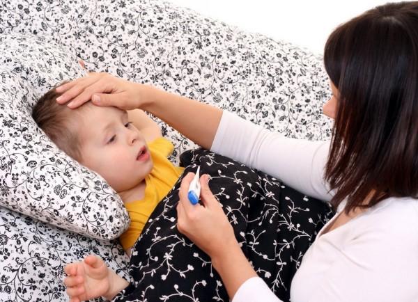 ребенок больной пневмонией