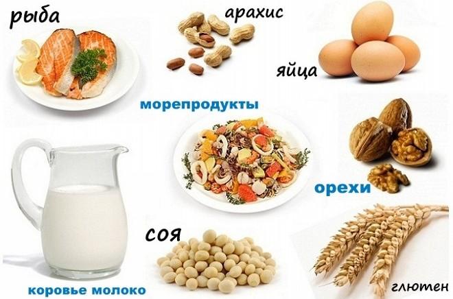 продукты провоцирующие аллергию
