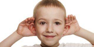 Свищ на ухе у ребенка