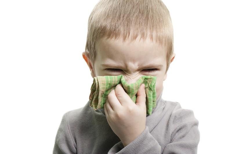 Дифтерия носа у детей