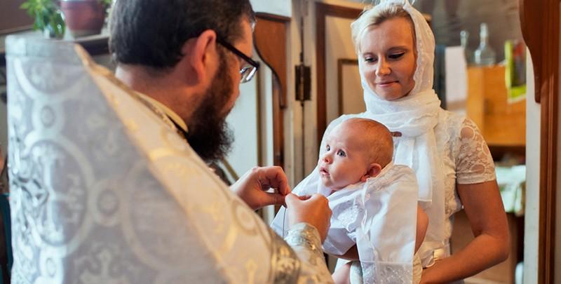 Внешний вид детей на крещении