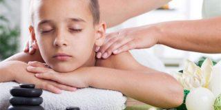 Воротниковый массаж для детей